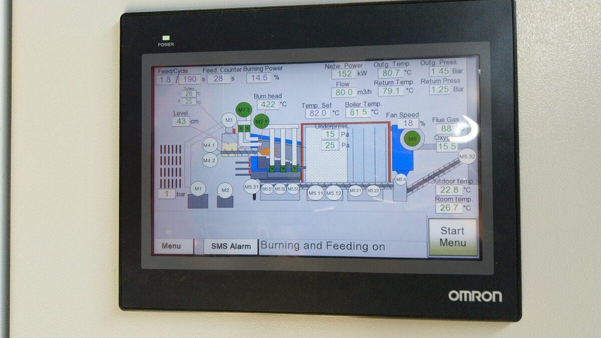 Biofire YO apkures katla vadības sistēma