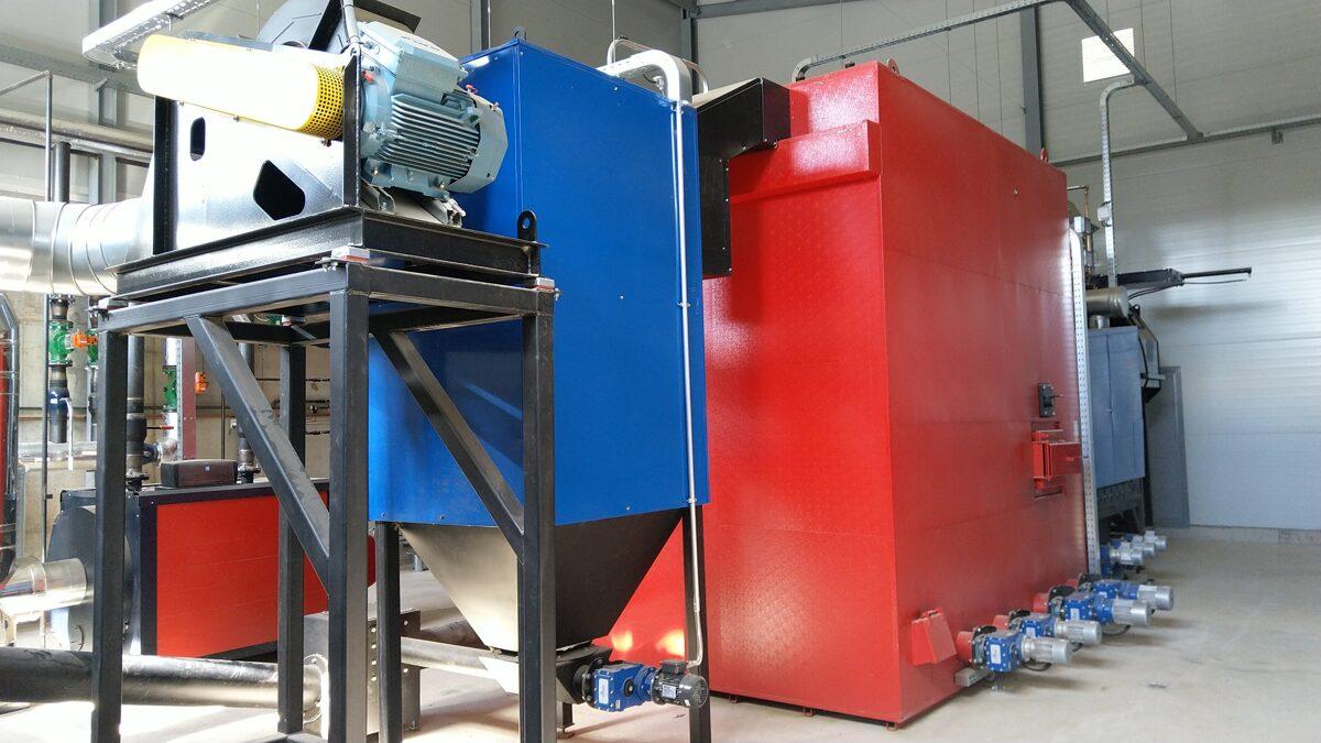 Biofire OY apkures katls ar 2MW apkures jaudu